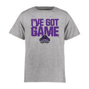 Central Arkansas Bears Youth Got Game T-Shirt - Ash