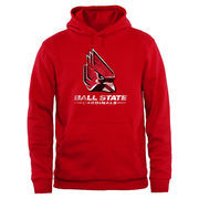 Ball State Cardinals Big & Tall Classic Primary Pullover Hoodie - Red