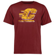 Cent. Michigan Chippewas Big & Tall Classic Primary T-Shirt - Scarlet