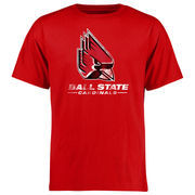 Ball State Cardinals Big & Tall Classic Primary T-Shirt - Red