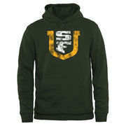 San Francisco Dons Big & Tall Classic Primary Pullover Hoodie - Green