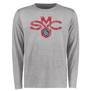 Saint Mary's Gaels Big & Tall Classic Primary Long Sleeve T-Shirt - Ash