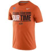 Oklahoma State Cowboys Nike 2016 Sugar Bowl Bound Our Time T-Shirt - Orange