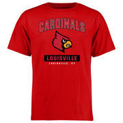 Louisville Cardinals Campus Icon T-Shirt - Red