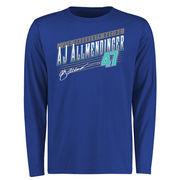 A.J. Allmendinger Crank Shaft Long Sleeve T-Shirt - Royal