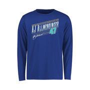 A.J. Allmendinger Youth Crank Shaft Long Sleeve T-Shirt - Royal