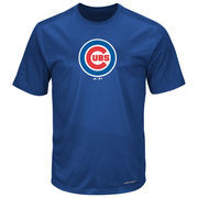 Chicago Cubs Majestic It's Our Goal Cool Base T-Shirt - Royal