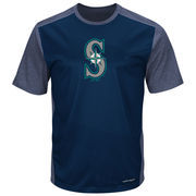 Seattle Mariners Majestic It's Our Goal Cool Base T-Shirt - Navy
