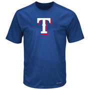 Texas Rangers Majestic It's Our Goal Cool Base T-Shirt - Royal