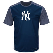 New York Yankees Majestic It's Our Goal Cool Base T-Shirt - Navy