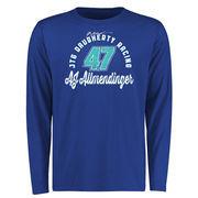 A.J. Allmendinger Race Day Long Sleeve T-Shirt - Royal