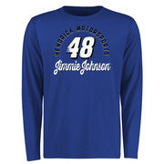 Jimmie Johnson Race Day Long Sleeve T-Shirt - Royal