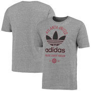 Atlanta United FC adidas Classic Label Tri-Blend T-Shirt - Heather Gray