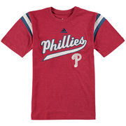 Philadelphia Phillies adidas Youth Vintage T-Shirt - Red