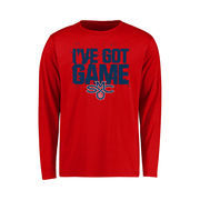 Saint Mary's Gaels Youth Got Game Long Sleeve T-Shirt - Red
