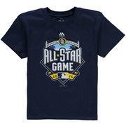 San Diego Padres Majestic Preschool 2016 All-Star Logo T-Shirt - Navy