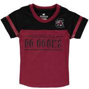 South Carolina Gamecocks Colosseum Newborn & Infant Referee T-Shirt - Garnet