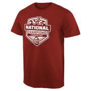 Alabama Crimson Tide College Football Playoff 2015 National Champions Official T-Shirt - Crimson