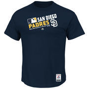 San Diego Padres Majestic Big & Tall Authentic Collection Official Team Choice T-Shirt - Navy