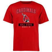 Ball State Cardinals Big & Tall Campus Icon T-Shirt - Red