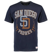 San Diego Padres Mitchell & Ness Hometown Champs Tailored T-Shirt - Navy