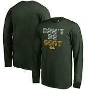 William & Mary Tribe Youth Can't Be Beat Long Sleeve T-Shirt - Green