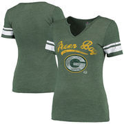 Green Bay Packers Majestic Women's Game Tradition T-Shirt - Green