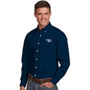 Nevada Wolf Pack Antigua Dynasty Woven Long Sleeve Button-Down Shirt - Navy