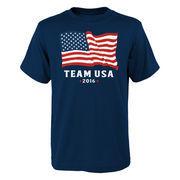 Team USA Youth American Flag T-Shirt - Navy