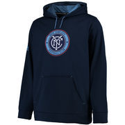 New York City FC adidas Stealth Pullover Hoodie - Navy