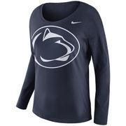 Penn State Nittany Lions Nike Women's Tailgate Long Sleeve T-Shirt - Navy