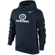Team USA Basketball Nike Youth Sport KO Performance Pullover Hoodie - Navy
