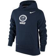 Team USA Golf Nike Youth Sport KO Performance Pullover Hoodie - Navy