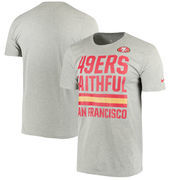 San Francisco 49ers Nike Legend Local Fans Performance T-Shirt - Dark Gray
