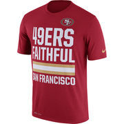San Francisco 49ers Nike Legend Local Fans Performance T-Shirt - Scarlet