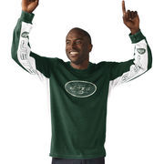 New York Jets Hail Mary Hands High Long Sleeve T-Shirt - Green