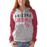 Arizona Cardinals G-III 4Her by Carl Banks Women's West Coast Pullover Hoodie - Heathered Gray