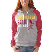 Washington Redskins G-III 4Her by Carl Banks Women's West Coast Pullover Hoodie - Heathered Gray