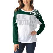 New York Jets Women's Ralph Long Sleeve T-Shirt - Green