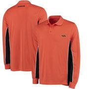 Oklahoma State Cowboys Colosseum Chip Shot Long Sleeve Polo - Orange