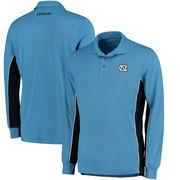 North Carolina Tar Heels Colosseum Chip Shot Long Sleeve Polo - Carolina Blue