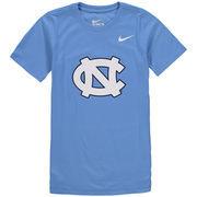 North Carolina Tar Heels Nike Youth Cotton Logo T-Shirt - Carolina Blue