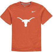 Texas Longhorns Nike Youth Cotton Logo T-Shirt - Texas Orange