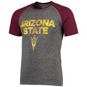 Arizona State Sun Devils adidas In Motion Ultimate T-Shirt - Gray