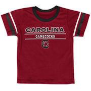 South Carolina Gamecocks Colosseum Newborn & Infant Tackle T-Shirt - Garnet