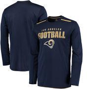 Los Angeles Rams Majestic Fanfare IX Cool Base Long Sleeve T-Shirt - Navy