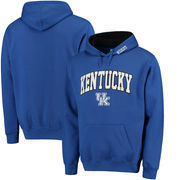 Kentucky Wildcats Stadium Athletic Arch and Logo Pullover Hoodie - Royal