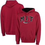 MIT Engineers Arch & Logo Pullover Hoodie - Cardinal