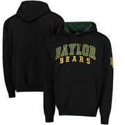 Baylor Bears Colosseum Double Arch Pullover Hoodie - Black