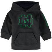 Notre Dame Fighting Irish Colosseum Newborn & Infant Big Logo Pullover Hoodie - Charcoal